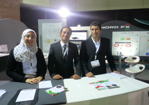 NordFX had an opportunity to sponsor the 7th annual international exhibition TREND 2013 in Cairo2